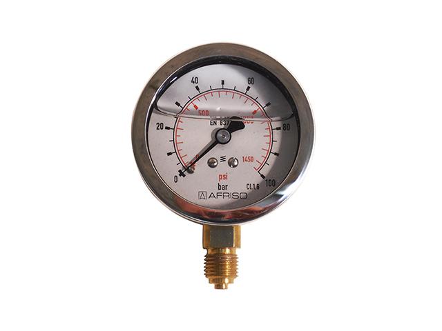 radyal monometre